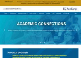 academicconnections.ucsd.edu