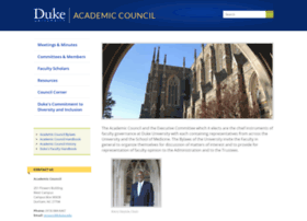 academiccouncil.duke.edu