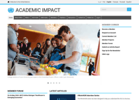 academicimpact.un.org