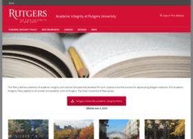 academicintegrity.rutgers.edu