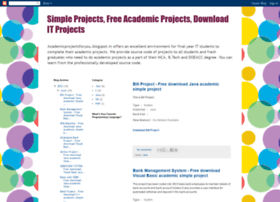 academicprojectsforyou.blogspot.com