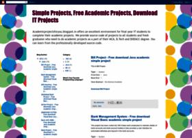 academicprojectsforyou.blogspot.com