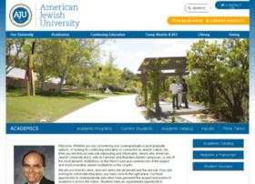 academics.aju.edu