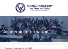 academics.aupp.edu.kh