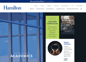 academics.hamilton.edu