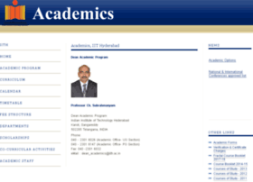 academics.iith.ac.in