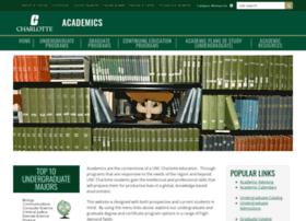 academics.uncc.edu