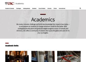 academics.usc.edu