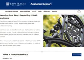 academicsupport.jhu.edu