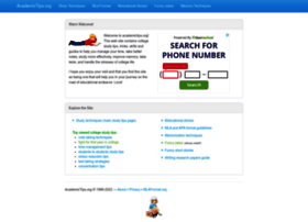 academictips.org