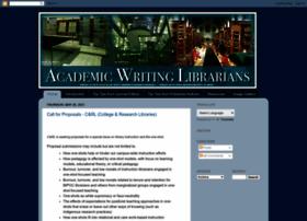 academicwritinglibrarian.blogspot.com