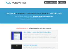 academie-du-pin-creu.all-forum.net