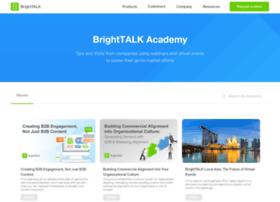 academy.brighttalk.com
