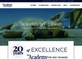 academyfordogtrainers.com
