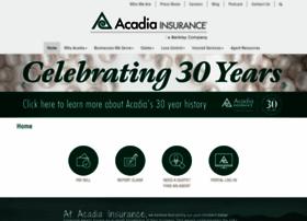acadiainsurance.com
