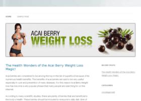 acaiberry-weightloss.info