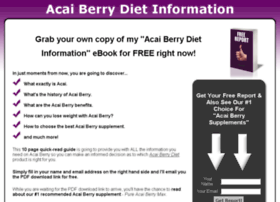 acaiberrydietinformation.com