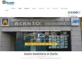 acantoinmobiliaria.com