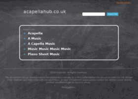 acapellahub.co.uk