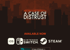 acaseofdistrust.com