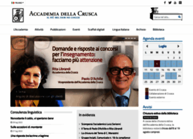 accademiadellacrusca.it