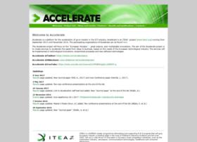 accelerateproject.eu