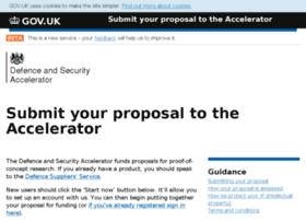 accelerator.dstl.gov.uk