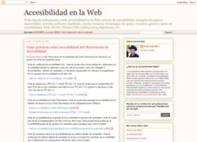 accesibilidadenlaweb.blogspot.com
