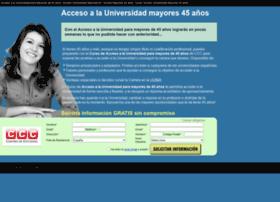 accesouniversidadmayores45.org
