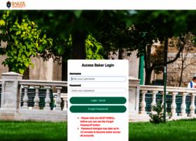 access.bakeru.edu