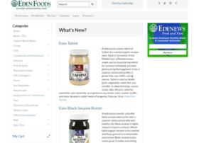 access.edenfoods.com
