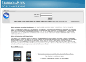 access.gordonrees.com
