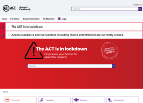 accesscanberra.act.gov.au