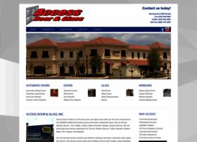 accessdoorandglass.com