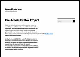 accessfirefox.com