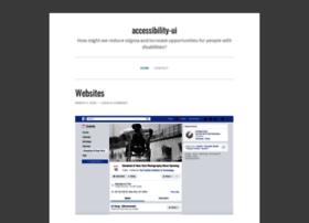 accessibilityui.wordpress.com