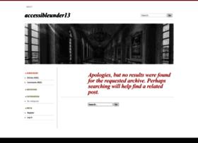 accessibleunder13.wordpress.com