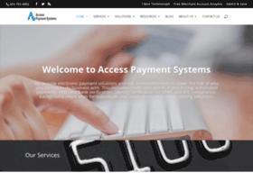 accesspaymentsystems.com