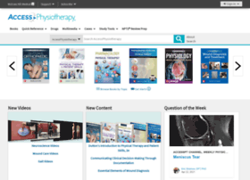 accessphysiotherapy.com