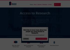 accesstoresearch.org.uk