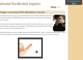 accidentalneedlestickinjuries.sitew.com