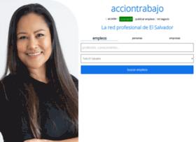 acciontrabajo.com.sv