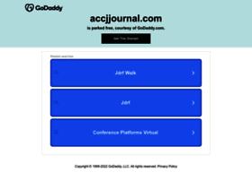 accjjournal.com