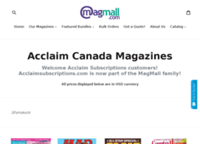acclaimsubscriptions.com