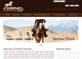 accompanysaddlery.com