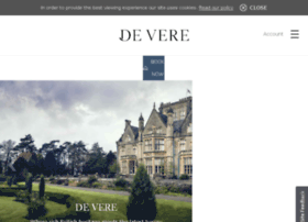 account.devere.co.uk