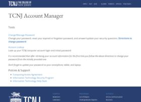 account.tcnj.edu