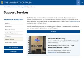 account.utulsa.edu