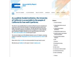accountability.universityofcalifornia.edu