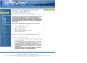 Accountingsoftwaresdirectory.com